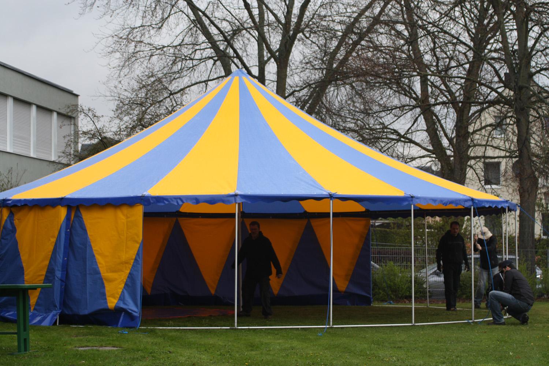 Zelt 10 Meter : Zelt